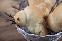 Roasted buns Royalty Free Stock Photography