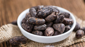 Roasted Cacao Beans Royalty Free Stock Image
