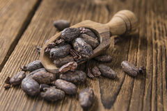 Roasted Cacao Beans Royalty Free Stock Photo