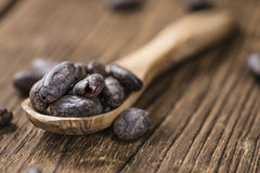 Roasted Cacao Beans Stock Images