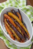 Roasted carrots Stock Image