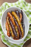 Roasted carrots Royalty Free Stock Photography