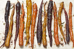 Roasted carrots Royalty Free Stock Image
