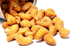 Roasted cashew nuts Royalty Free Stock Photography