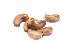 Roasted cashew nuts Royalty Free Stock Photos
