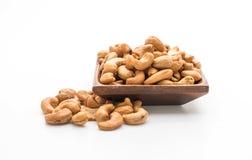 Roasted cashew nuts Stock Photos