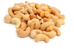 Roasted cashews Stock Images