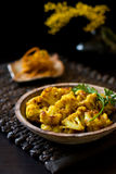 Roasted Cauliflower Royalty Free Stock Image