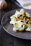 Roasted Cauliflower on a dish Stock Photography
