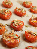 Roasted Cherry Tomatoes with Fennels Seeds Royalty Free Stock Image