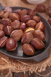 Roasted chestnut Royalty Free Stock Photos