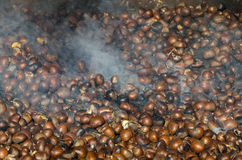 Roasted chestnuts Royalty Free Stock Photo