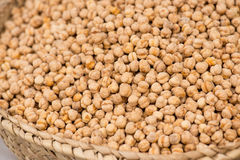 Roasted Chick Peas On The Market Stock Image
