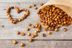 roasted chick peas snack Stock Images