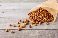 Roasted chick peas snack Stock Image