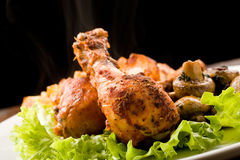 Roasted Chicken royalty free stock images