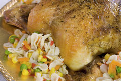 Roasted Chicken Stock Images