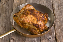 Roasted Chicken. Royalty Free Stock Photography