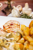 Roasted chicken breast Stock Image