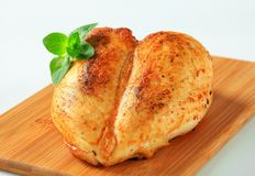 Roasted chicken breasts Royalty Free Stock Photos