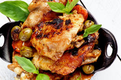 Roasted Chicken Royalty Free Stock Photo