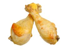 Roasted chicken drumsticks Royalty Free Stock Photography