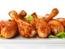Roasted chicken drumsticks Royalty Free Stock Image