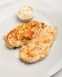The roasted chicken Royalty Free Stock Photography