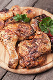 Roasted chicken legs Royalty Free Stock Photos