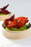 Roasted Chicken Specialties - 7th Lunar Month. Roasted Chicken-  Lunar month festival Royalty Free Stock Photo