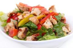 Roasted chicken summer salad Stock Photo