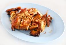 Roasted chicken thai style Stock Photos