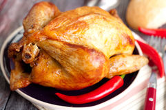 Roasted chicken Royalty Free Stock Photography