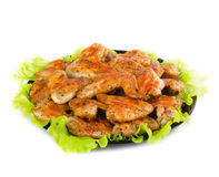 Roasted chicken wings Stock Photography