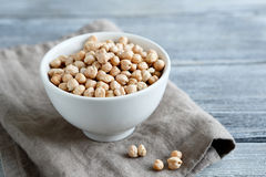 Roasted chickpeas in a bowl Stock Photos