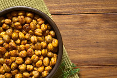 Roasted Chickpeas with Herbs Royalty Free Stock Photography