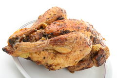 roasted chiken Royalty Free Stock Photo