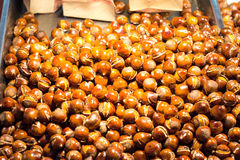 Roasted Chinese chestnut Royalty Free Stock Photo