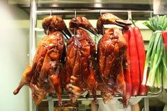 Roasted chinese ducks Royalty Free Stock Photo