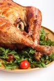 Roasted christmas turkey Royalty Free Stock Photography