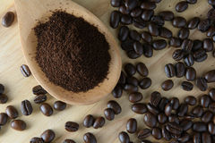 Roasted coffee. Aroma cappuccino mocca Stock Photo
