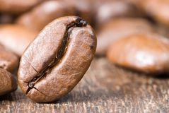 Roasted Coffee Bean Stock Photo
