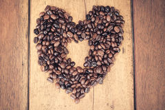 Roasted coffee bean background Stock Photography
