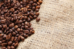 Roasted coffee bean Stock Photography