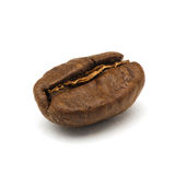 Roasted coffee bean. Macro shot with extended depth of field Stock Photography