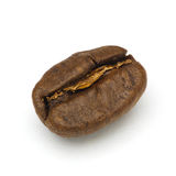 Roasted coffee bean. Macro shot with extended depth of field Stock Photos