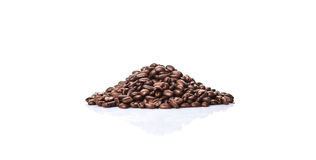 Roasted Coffee Bean V Stock Photos