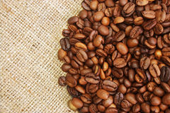 Roasted coffee beans Stock Photos