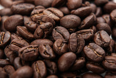 Roasted Coffee Beans Background Texture Royalty Free Stock Images
