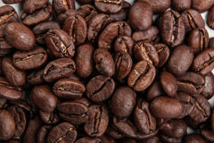Roasted Coffee Beans Background Texture Stock Photography